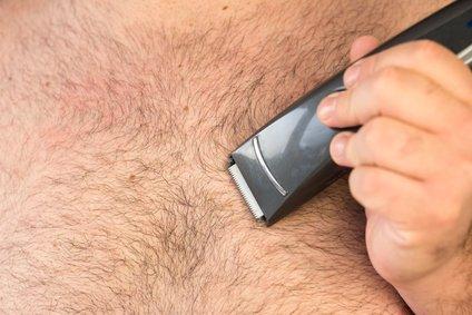 Brustenthaarung beim Mann